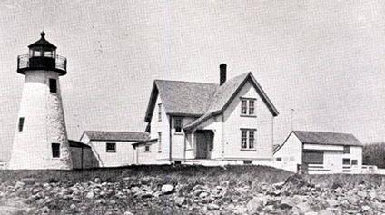 Neds Point Light in the early 1900s